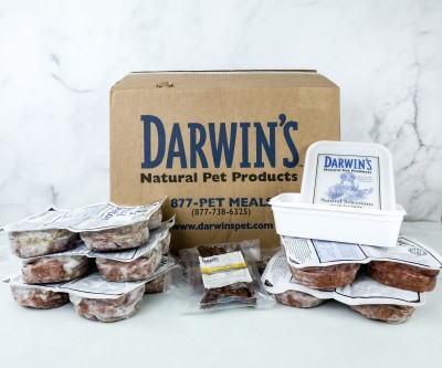 Darwin's Dog Food Subscription Box Review + Coupon