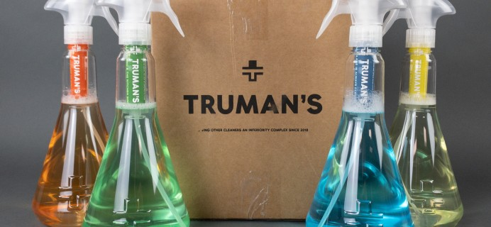 Truman's Starter Kit Subscription Box Review + Coupon!