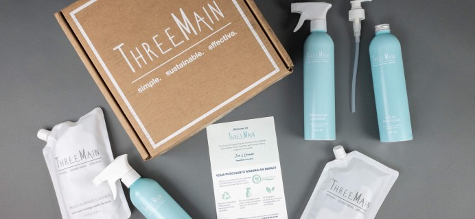 Three Main Cleaners Starter Kit Review + 50% Off Coupon