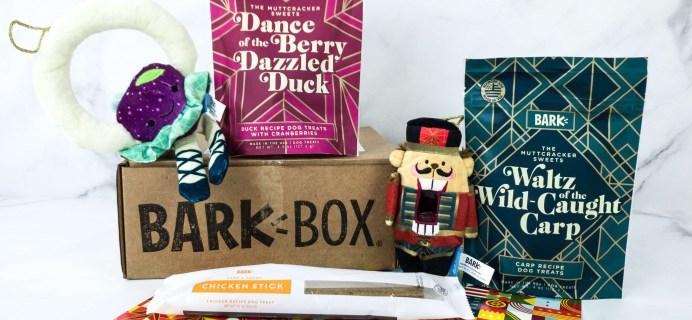 Barkbox December 2019 Subscription Box Review + Coupon