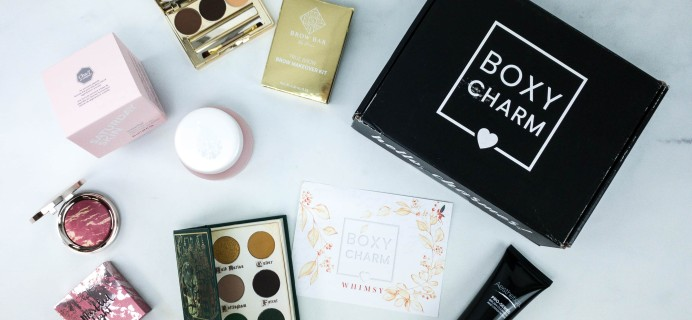 BOXYCHARM December 2019 Review + Coupon