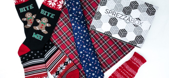 SprezzaBox December 2019 Subscription Box Review + Coupon – HOT TODDY