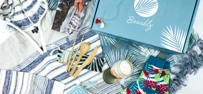 Beachly Women's Box Winter 2019 Subscription Box Review + Coupon!