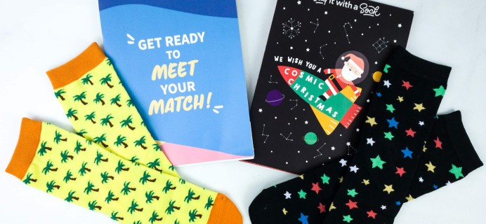 Say It With A Sock Kids December 2019 Sockscription Review + Coupon