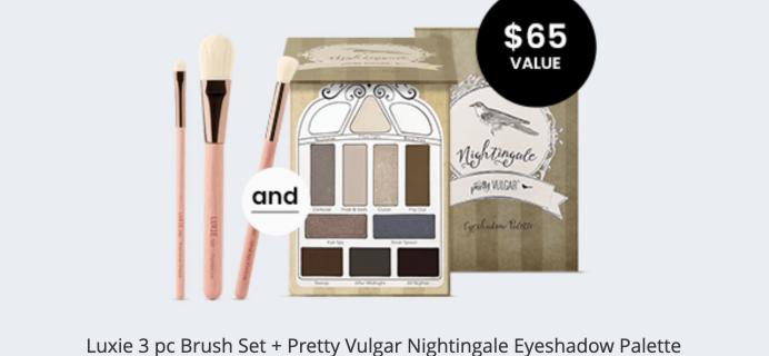BOXYCHARM Coupon: FREE Brush Set + Palette with January 2020 Box!