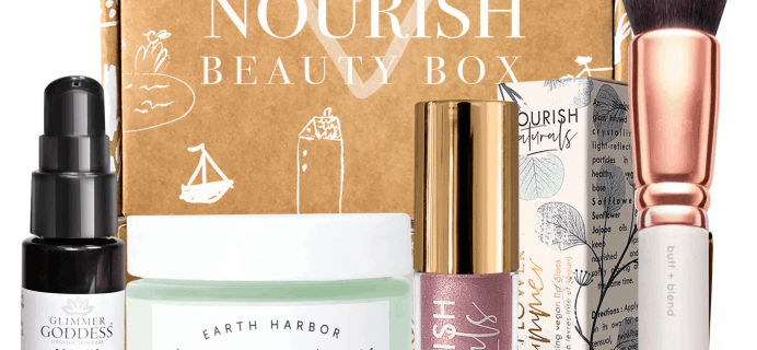 Nourish Beauty Box January 2020 Full Spoilers + Coupon!