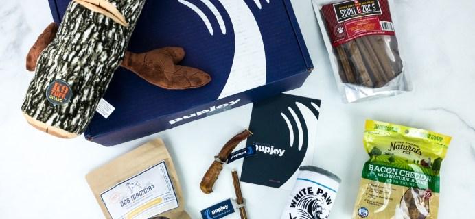 PupJoy November 2019 Subscription Box Review + Coupon