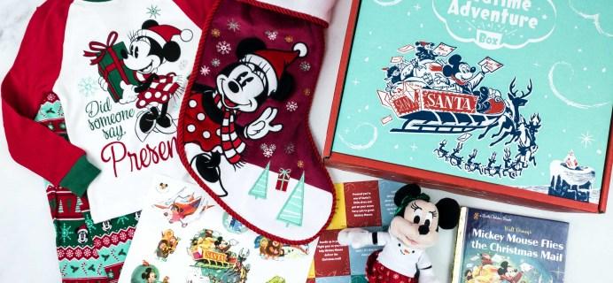 Disney Bedtime Adventure Subscription Box Review – December 2019
