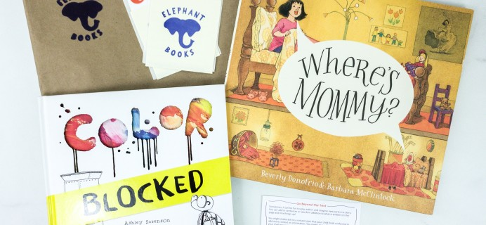 Elephant Books January 2020 Subscription Box Reviews – PICTURE BOOKS