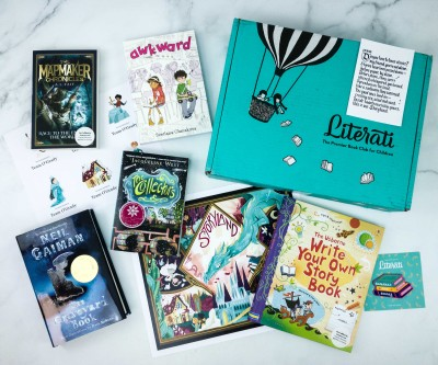 Literati Kids Club Phoenix Box Review + Coupon – December 2019