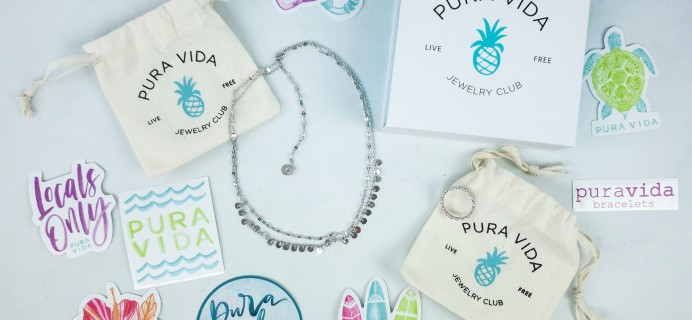 Pura Vida Jewelry Club December 2019 Subscription Box Review + Coupon!