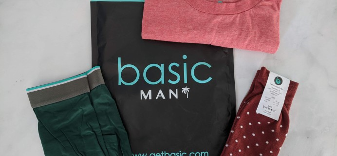 Basic MAN Subscription Box December 2019 Review + 50% Off Coupon