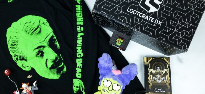 Loot Crate DX October 2019 Subscription Box Review & Coupon