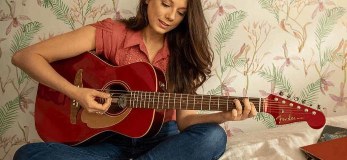 Fender Play Sale: Get 25% Off!