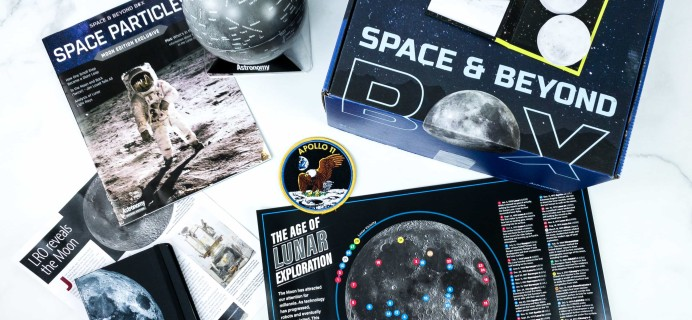 Space & Beyond Box Review – January 2020 + Coupon