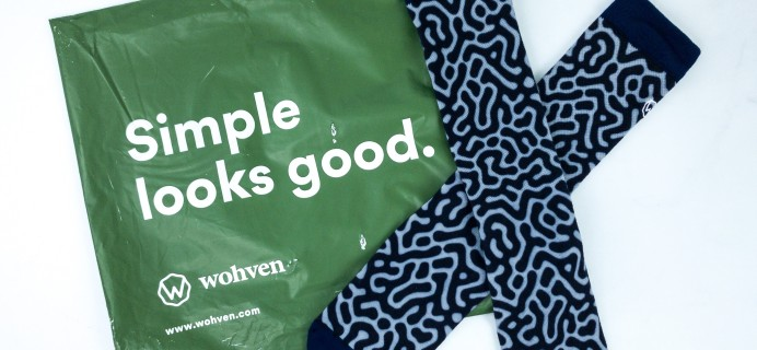 Wohven Socks Subscription December 2019 Review + Coupon!