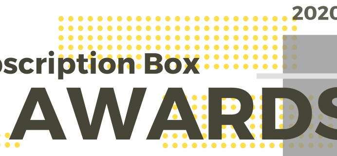 2020 Best Subscription Box Awards Voting Open NOW!