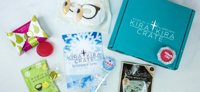 Kira Kira Crate December 2019 Subscription Box Review + Coupon