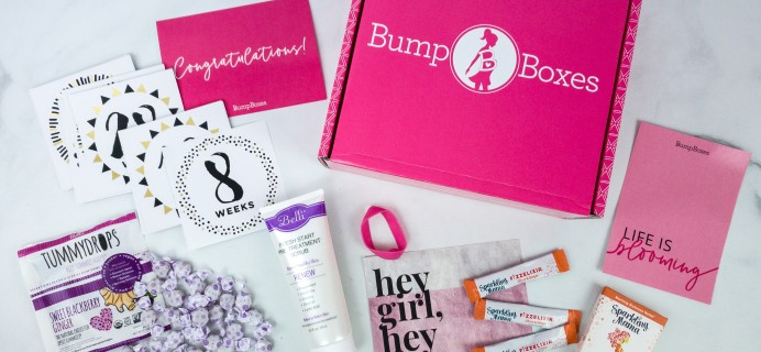 Bump Boxes December 2019 Subscription Box Review