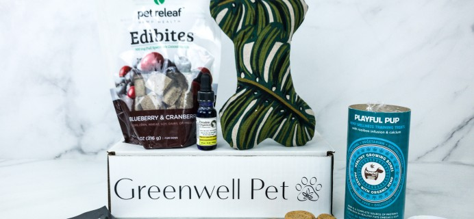 Greenwell Pet January 2020 Subscription Box Review + Coupon!