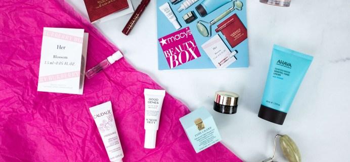 Macy's Beauty Box January 2020 Subscription Box Review