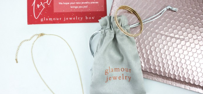 Glamour Jewelry Box December 2019 Subscription Box Review + Coupon
