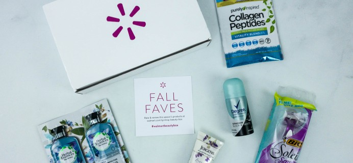 Walmart Beauty Box Fall 2019 Review – CLASSIC Box