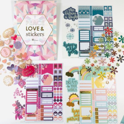 Erin Condren Sticker Club Winter 2019 Subscription Box Review