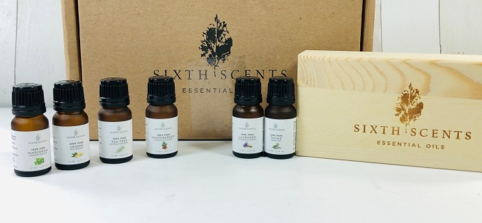 Sixth Scents January 2020 Subscription Box Review + Coupon