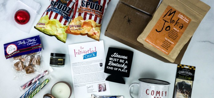 The Introverted Chick December 2019 Subscription Box Review + Coupon