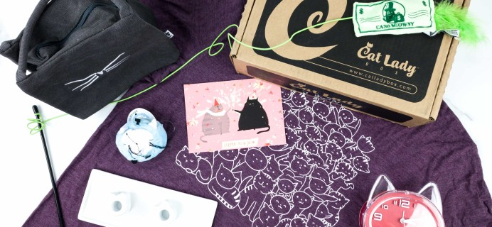 Cat Lady Box January 2020 Subscription Box Review