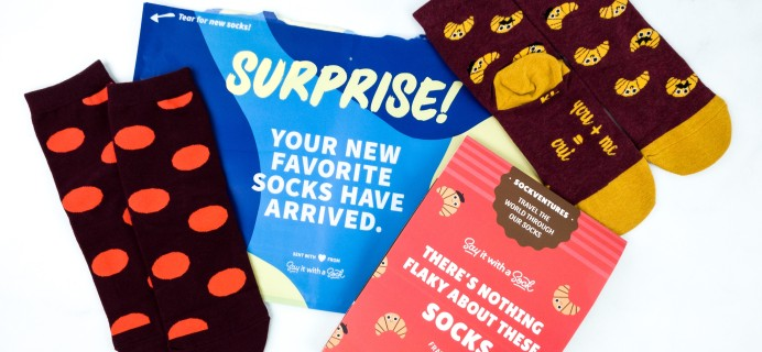 Say It With A Sock Kids January 2020 Sockscription Review + Coupon