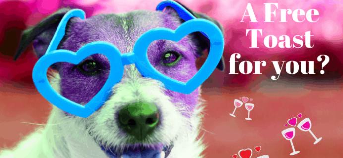Pet Treater Valentine's Day Coupon: FREE Bottle of Dog Pawrignon Rosé!