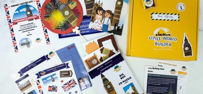 Little World Builder Subscription Box Review + Coupon – BIG BEN
