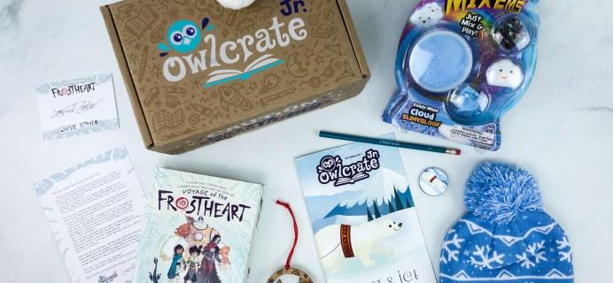 OwlCrate Jr. December 2019 Box Review & Coupon