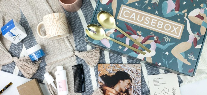 CAUSEBOX Winter 2019 Subscription Box Review + Coupon