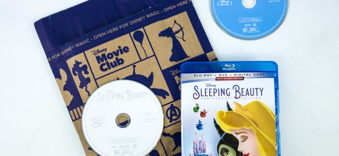 Disney Movie Club January 2020 SLEEPING BEAUTY Review  + Coupon!