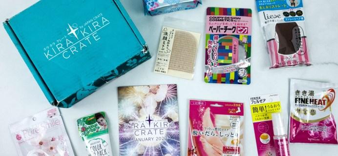 Kira Kira Crate January 2020 Subscription Box Review + Coupon
