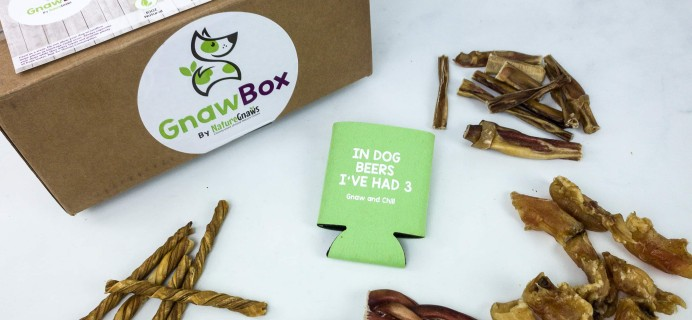 Gnaw Box January 2020 Subscription Box Review + Coupon