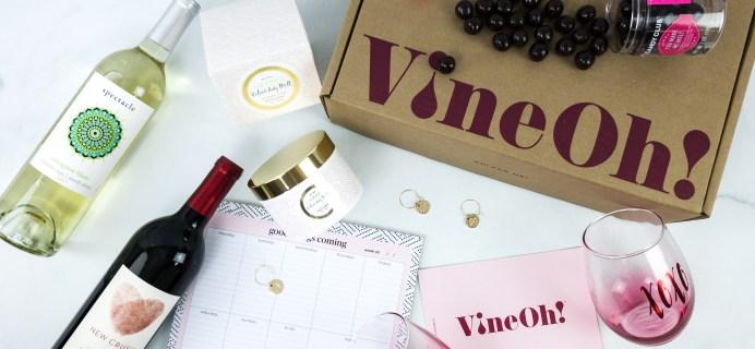 Vine Oh! Spring 2020 Subscription Box Review + Coupon – OH! LA LA! BOX