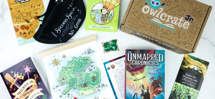 OwlCrate Jr. January 2020 Box Review & Coupon