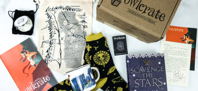 OwlCrate January 2020 Subscription Box Review + Coupon
