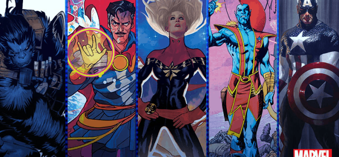 Loot Crate Marvel Gear + Goods March 2020 Shipping Update