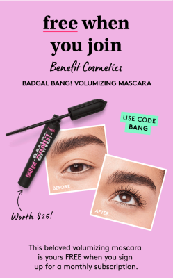 Birchbox Deal: FREE Benefit They're Real! Mascara with Subscription!