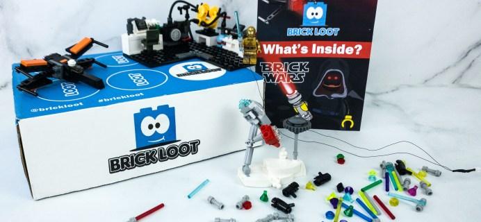 Brick Loot January 2020 Subscription Box Review & Coupon