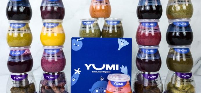 Yumi Baby Food Review + Coupon