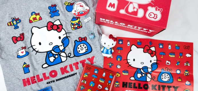 Hello Kitty and Friends Fall 2019 Subscription Box Review + Coupon!