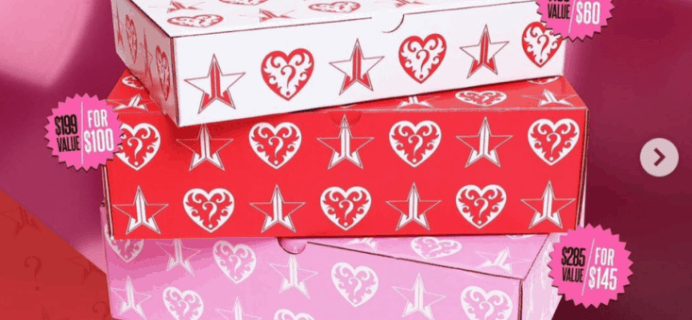REMINDER: Jeffree Star Valentine's Day Mystery Boxes Launch TODAY 1pm Eastern!