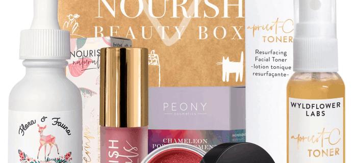 Nourish Beauty Box February 2020 Full Spoilers + Coupon!