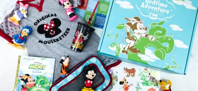 Disney Bedtime Adventure Subscription Box Review – January 2020